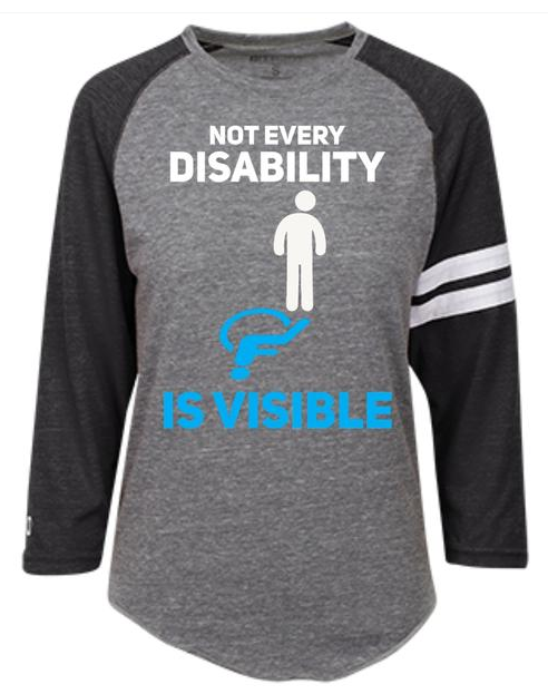 Not every disability is visible shirt