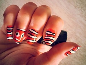 invisible illness nail art