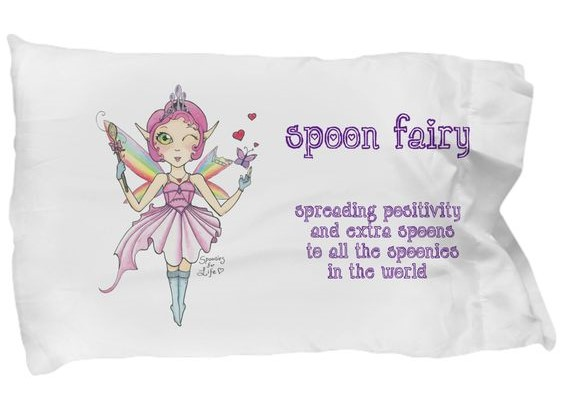 spoon fairy pillowcase