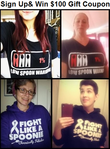 win chronic illness apparel
