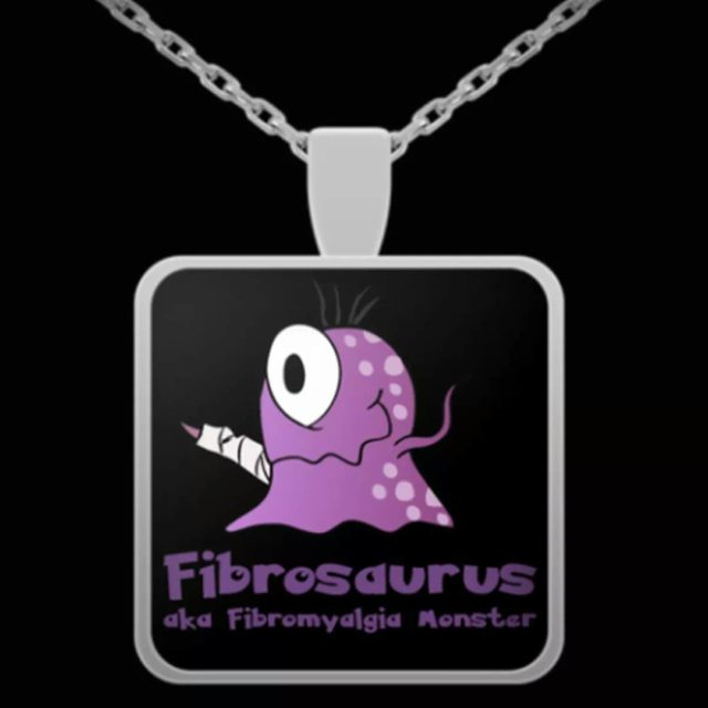 Meet our fibromyalgia monster what do you think?  WINhellip