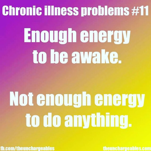Just one word fatigue  WIN unique chronic illness clotheshellip