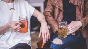 Inviting friends over can help ease the loneliness of chronic illness life
