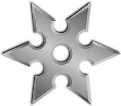At times, gastroparesis can feel like a Shuriken Star is being shoved into the stomach!