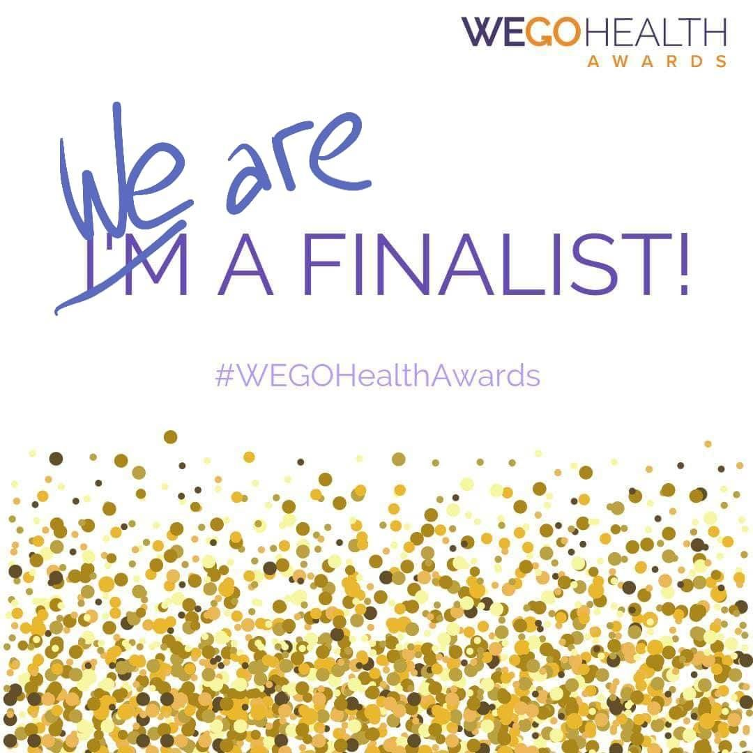 WEGO Health Awards 2018 Finalist